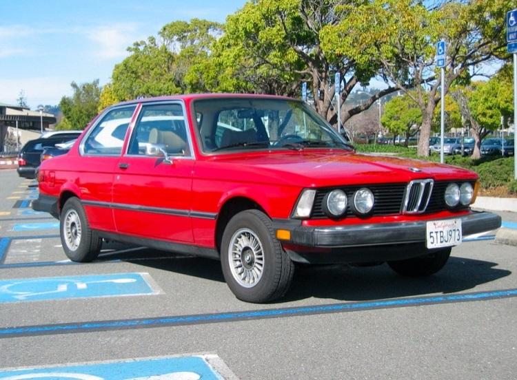 BMW 320i1978 года