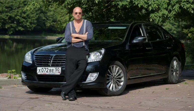 Нагиев и Hyundai Equus Limousine