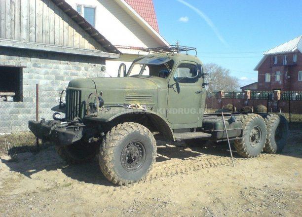 Старый ЗИЛ-157