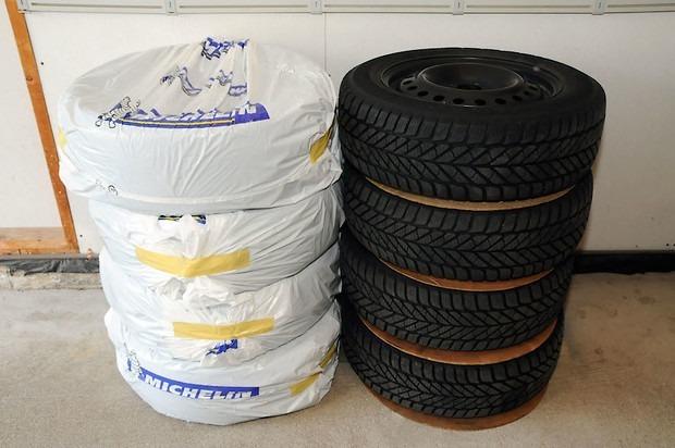 Запакованные шины