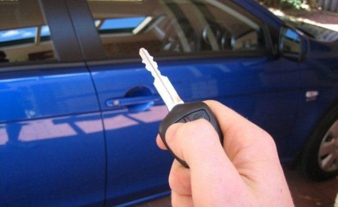 Ключ и машина