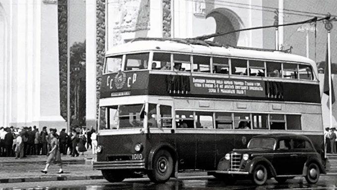 Советский автобус ЯТБ-3