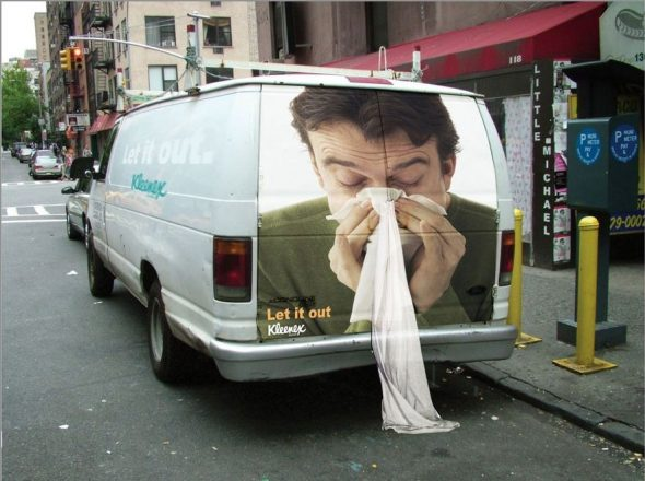 Прикольные баннеры на авто