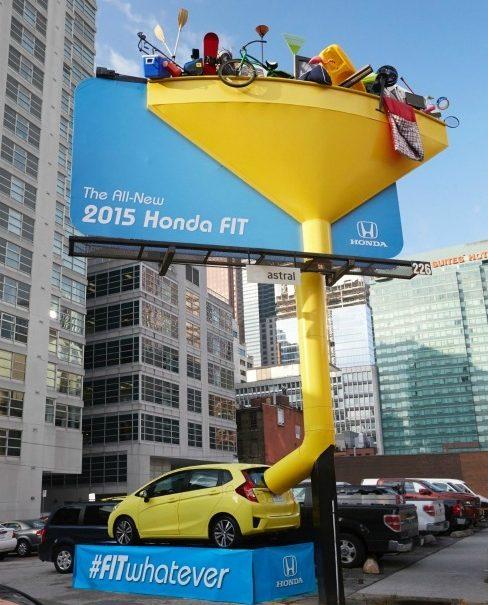 Реклама вместительного авто