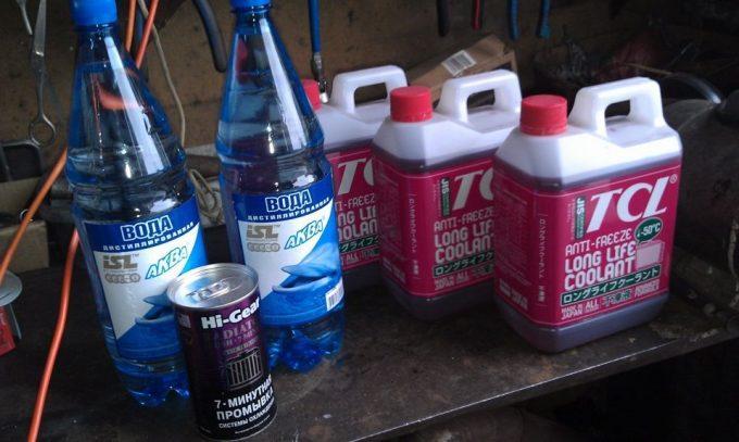 Специальные жидкости для промывки СО