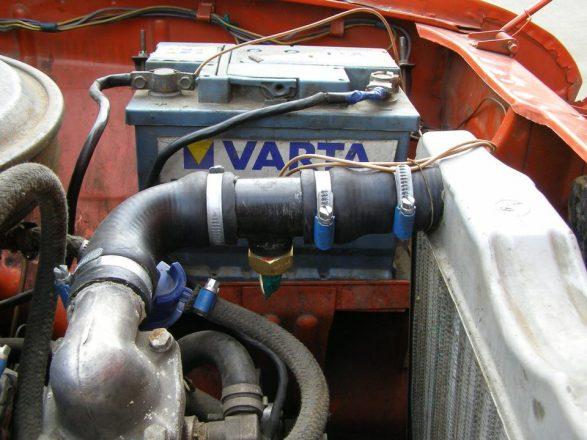 Система охлаждения двигателя авто