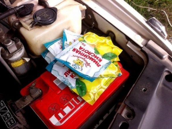 Лимонная кислота для чистки СО