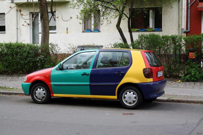Машина Арлекино из Германии