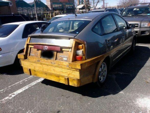 Деревянный тюнинг авто