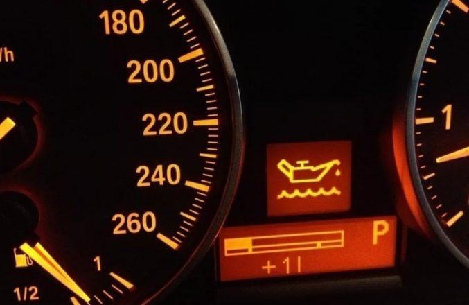 Падение уровня масла в двигателе