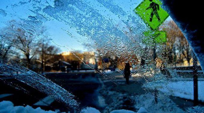 Обледенение лобового стекла