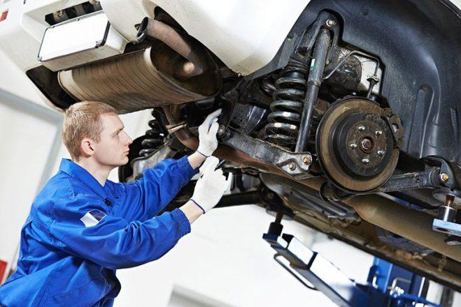 Проверка тормозной системы в автосервисе