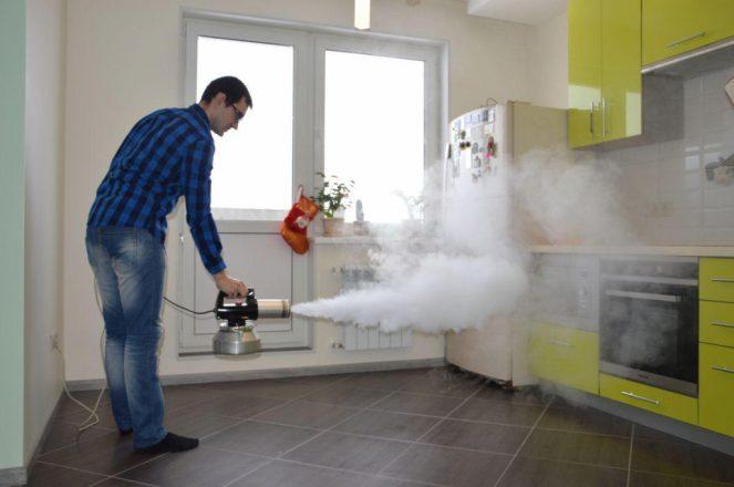 Технология сухого тумана в помещении
