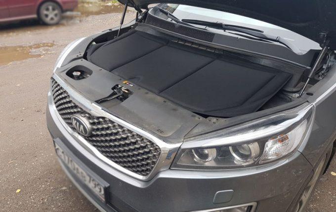 Утепление двигателя авто