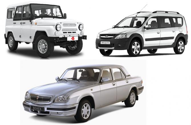 Топ лучших российских автомобилей
