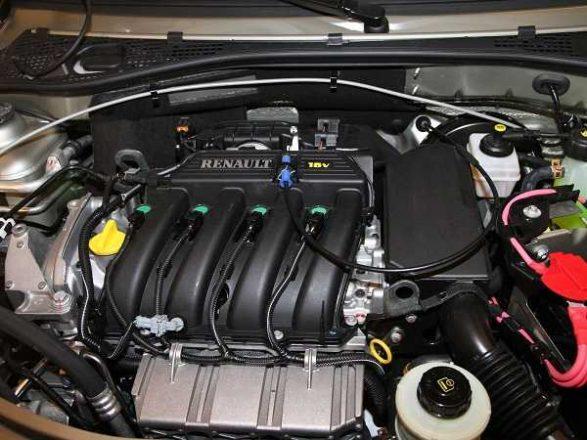 Мотор Lada Largus