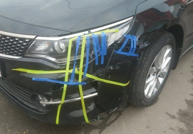 Ремонт авто с помощью изоленты