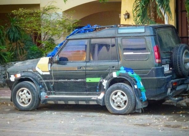 Дизайн авто с помощью изоленты