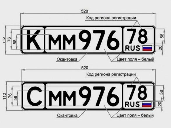 Новые номера авто