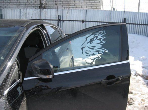 Тонировка авто