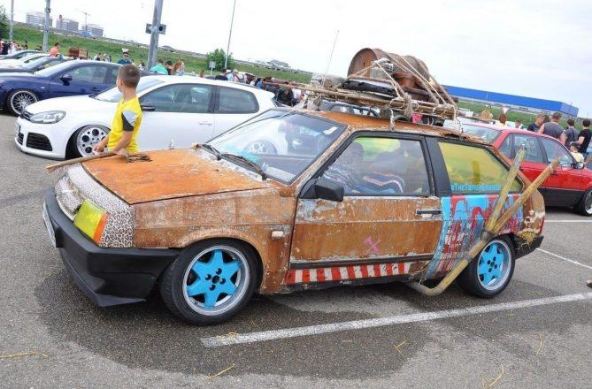 Тюнинг старого авто