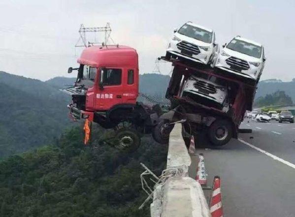 Китайский автовоз