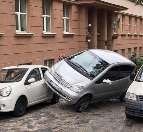 Парковка на колесе