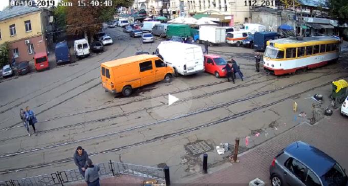 Одесская парковка