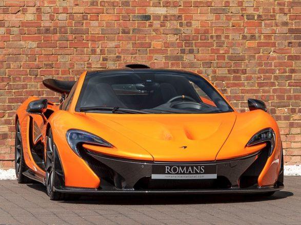 Фары McLaren P1