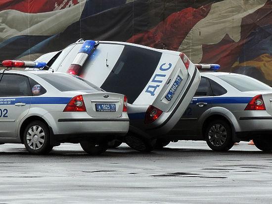 Авария с полицейскими