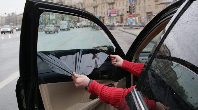 Снятие тонировки с машины