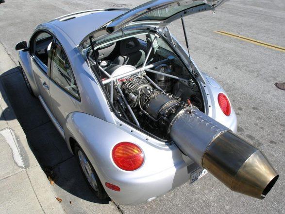 Реактивный двигатель на Volkswagen