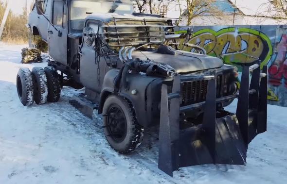 Гибрид из двух ГАЗов и универсала ВАЗ-2104