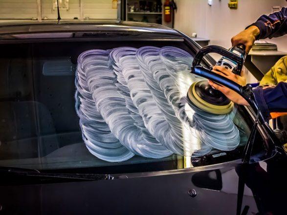 Полировка стекла авто