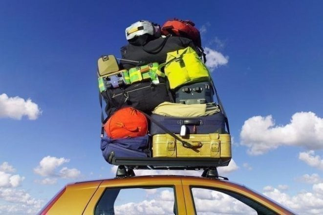Багаж на крыше авто