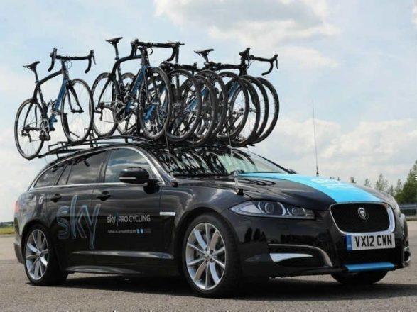 Велосипеды на крыше авто