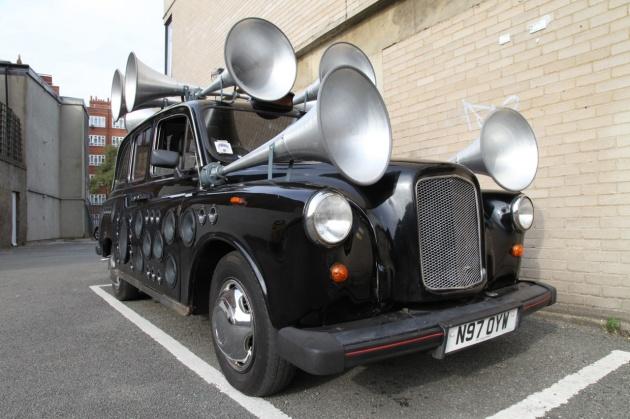 Музыкальный автомобиль