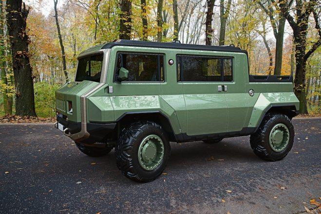 Дизайн проект Hummer-UAZ