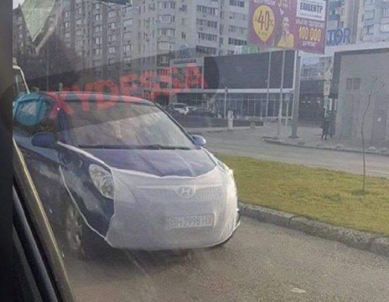 Машина в маске