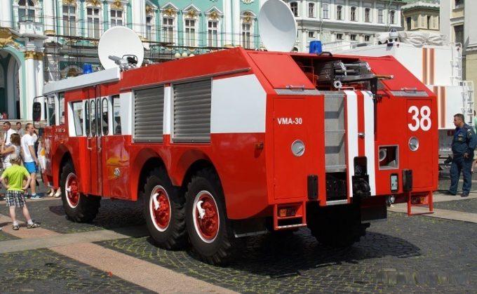 Пожарная машина ЗИЛ-Sides