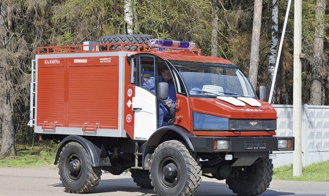 Пожарная машина Гюрза