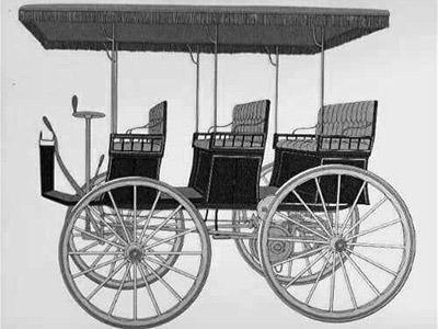 «Электрический вагон» Моррисона