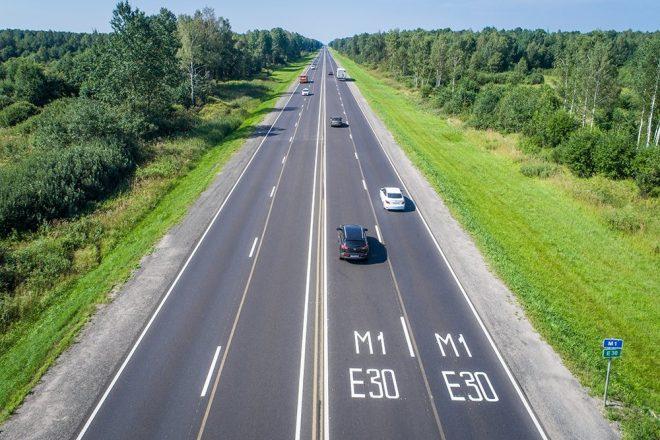 Трасса М1 Беларусь