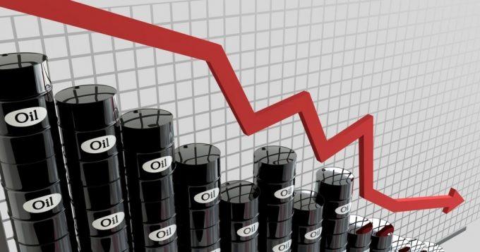 График уменьшения цен на нефть