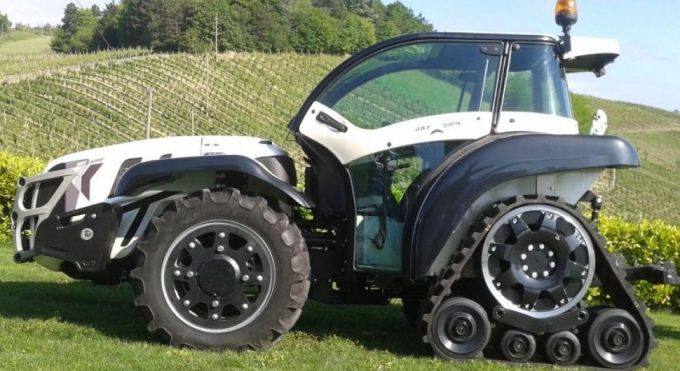 Мини-трактор Феррари
