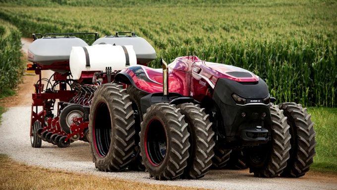 Американский трактор-беспилотник на базе Magnum