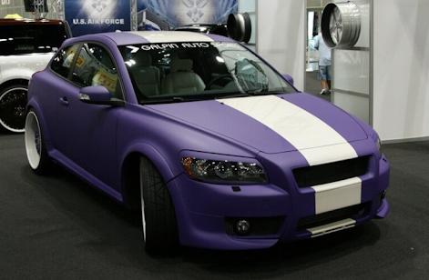 Авто с матовым покрытием