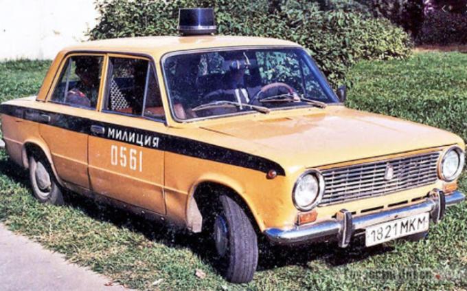 ВАЗ-2101 для МВД