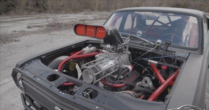 ГАЗ переделанный под маслкар