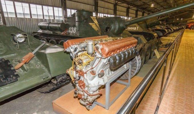 Дизельная силовая установка танка Т-34